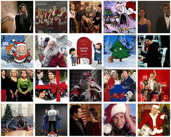 100 Pics Christmas Films Level 81 - 100 Answers | 4 Pics 1 Word ...