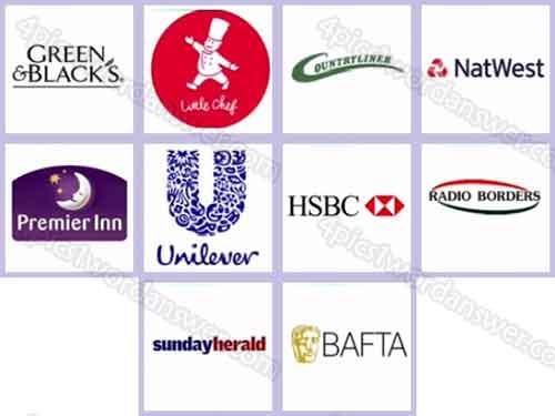 Logo Quiz Uk Brands Level 91 100