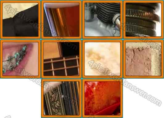 Ultimate Close Ups Level 21 30 Answers 4 Pics 1 Word Daily