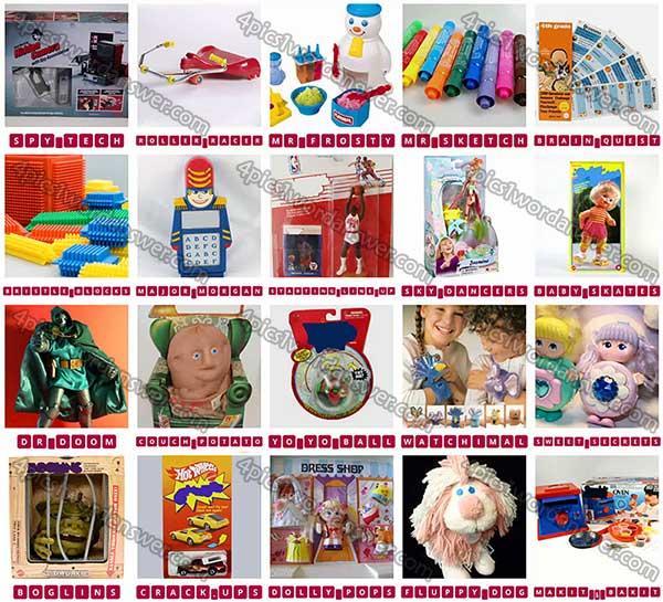 100 Pics Classic Toys Level 81 100 Answers 4 Pics 1