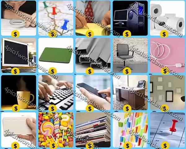 Infinite Pics Office Level 20