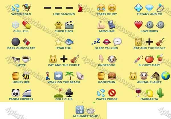 Guess The Emoji Level 26 50 Answers Traffic Club
