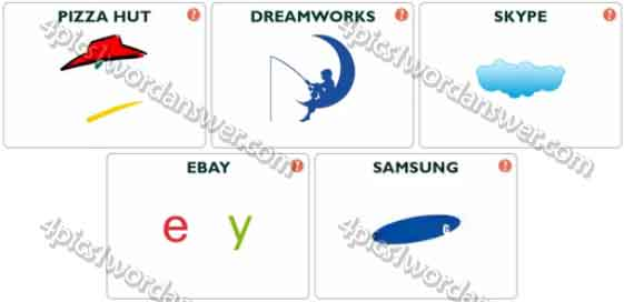 logo pop logo quiz level 2 answers 4 pics 1 word game