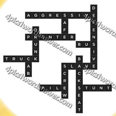 Essay byline crossword
