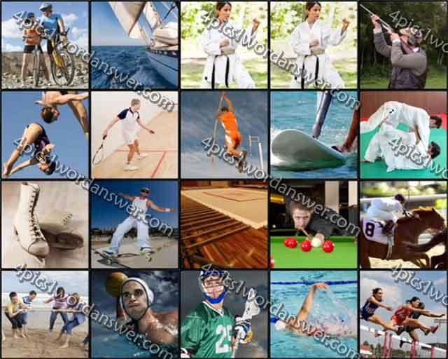100 Pics Sports Level 21 - 40 Answers | 4 Pics 1 Word ...