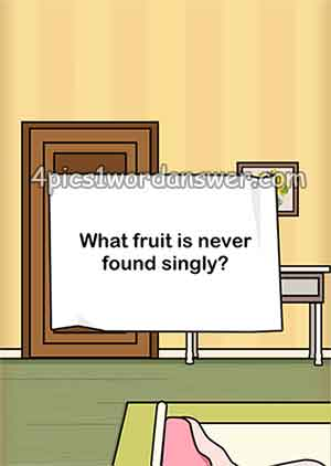 what-fruit-is-never-found-singly