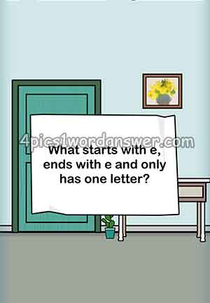 What-starts-with-e-ends-with-e-and-only-has-one-letter