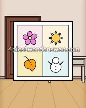 flower-sun-leaf-snowman-escape-room