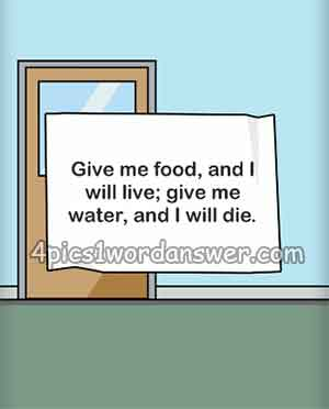 Give-me-food-and-i-will-live-give-me-water-and-i-will-die