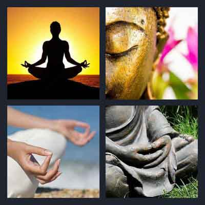 4 pics 1 word 4 letters statue article why we find it to meditate 18893