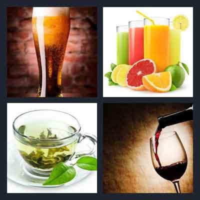 4-pics-1-word-beverage