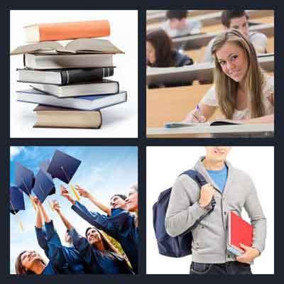 4-pics-1-word-college