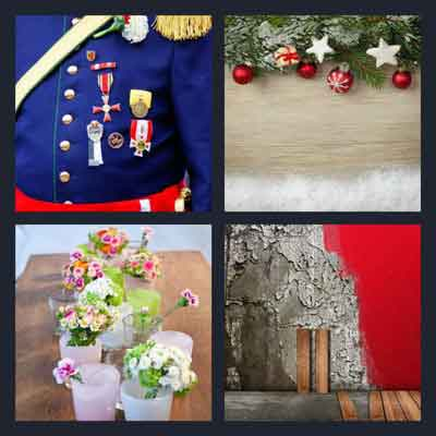 4 pic 1 word 8 letters soldiers 4 pics 1 word answer decorate 4 pics 1 word answers 19010