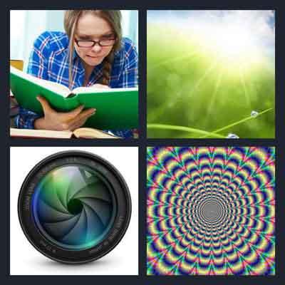4 Pics 1 Word Answer Focus