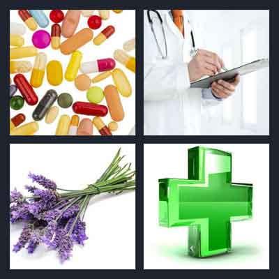 4-pics-1-word-medicine