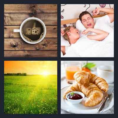 4-pics-1-word-morning