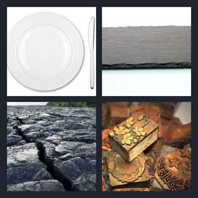 4 Pics 1 Word Answer Plate