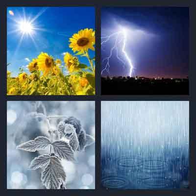 4-pics-1-word-weather