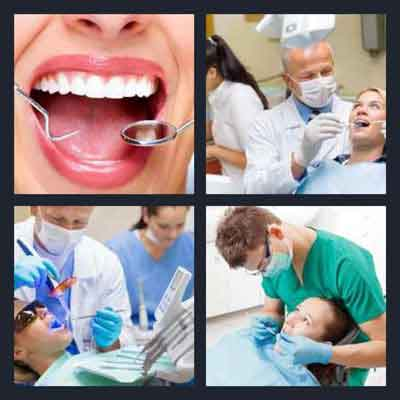 4-pics-1-word-dentist