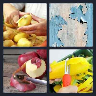 4-pics-1-word-peeling