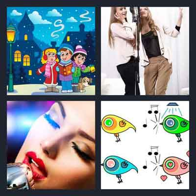 4-pics-1-word-singing