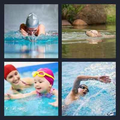 4-pics-1-word-swimming