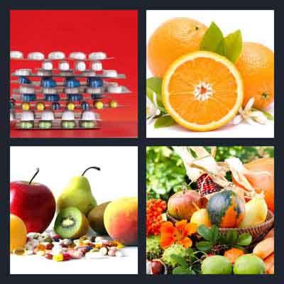 4-pics-1-word-vitamin