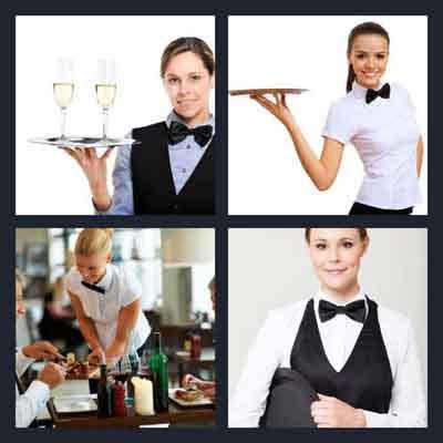 4-pics-1-word-waitress