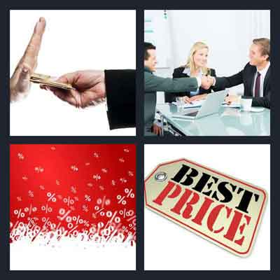 4-pics-1-word-bargain