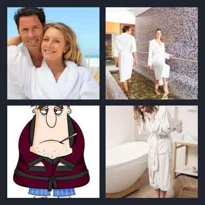 4-pics-1-word-bathrobe