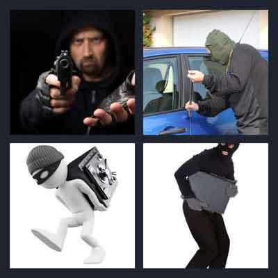 4-pics-1-word-robbery