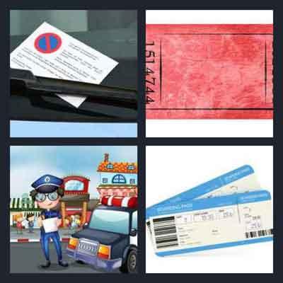 4-pics-1-word-ticket