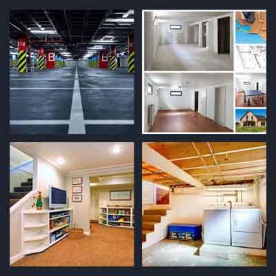 4-pics-1-word-basement