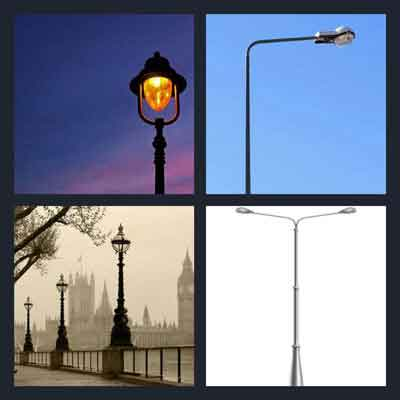 4-pics-1-word-lamppost