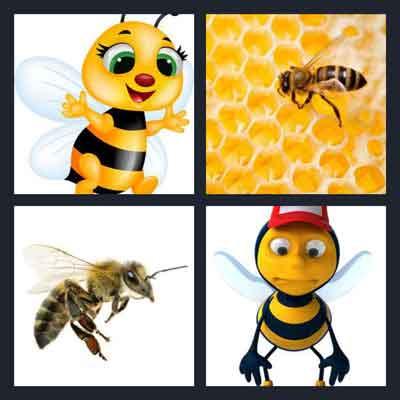 4-pics-1-word-bee