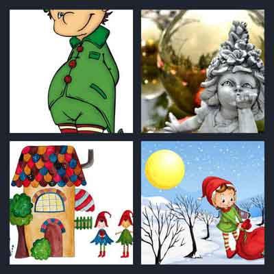 4-pics-1-word-elf