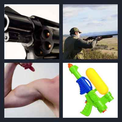 4-pics-1-word-gun