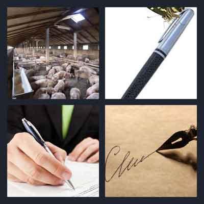 4-pics-1-word-pen