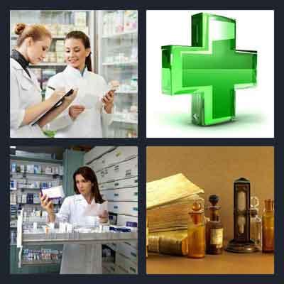 4-pics-1-word-pharmacy