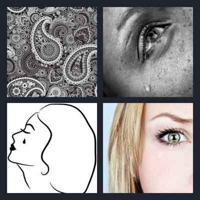 4-pics-1-word-teardrop