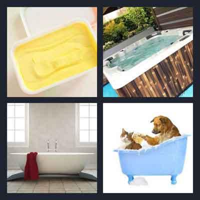 4-pics-1-word-tub