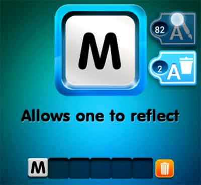 one-clue-allows-one-to-reflect