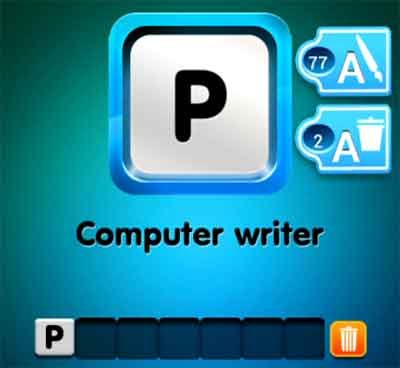 one-clue-computer-writer
