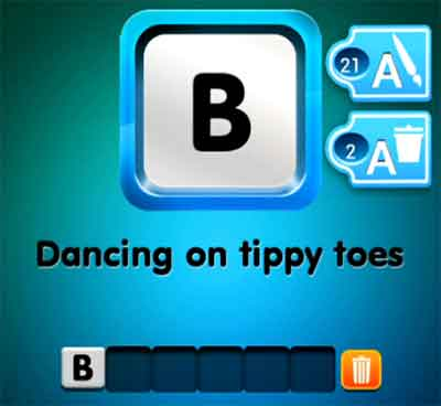 one-clue-dancing-on-tippy-toes