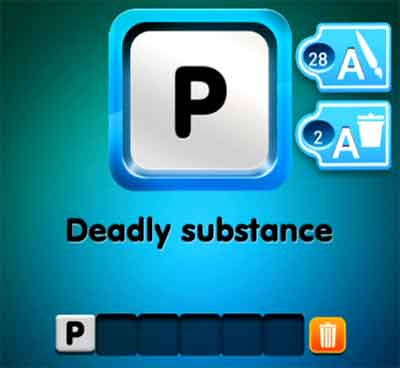 one-clue-deadly-substance