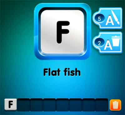 one-clue-flat-fish