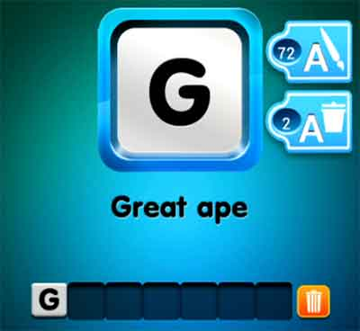 one-clue-great-ape-answer