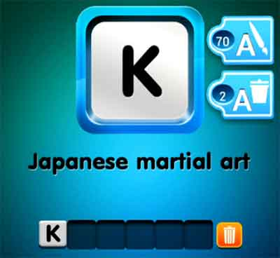 one-clue-japanese-martial-art
