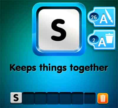 one-clue-keeps-things-together