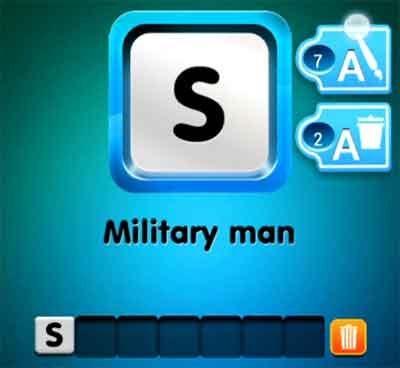 one-clue-military-man